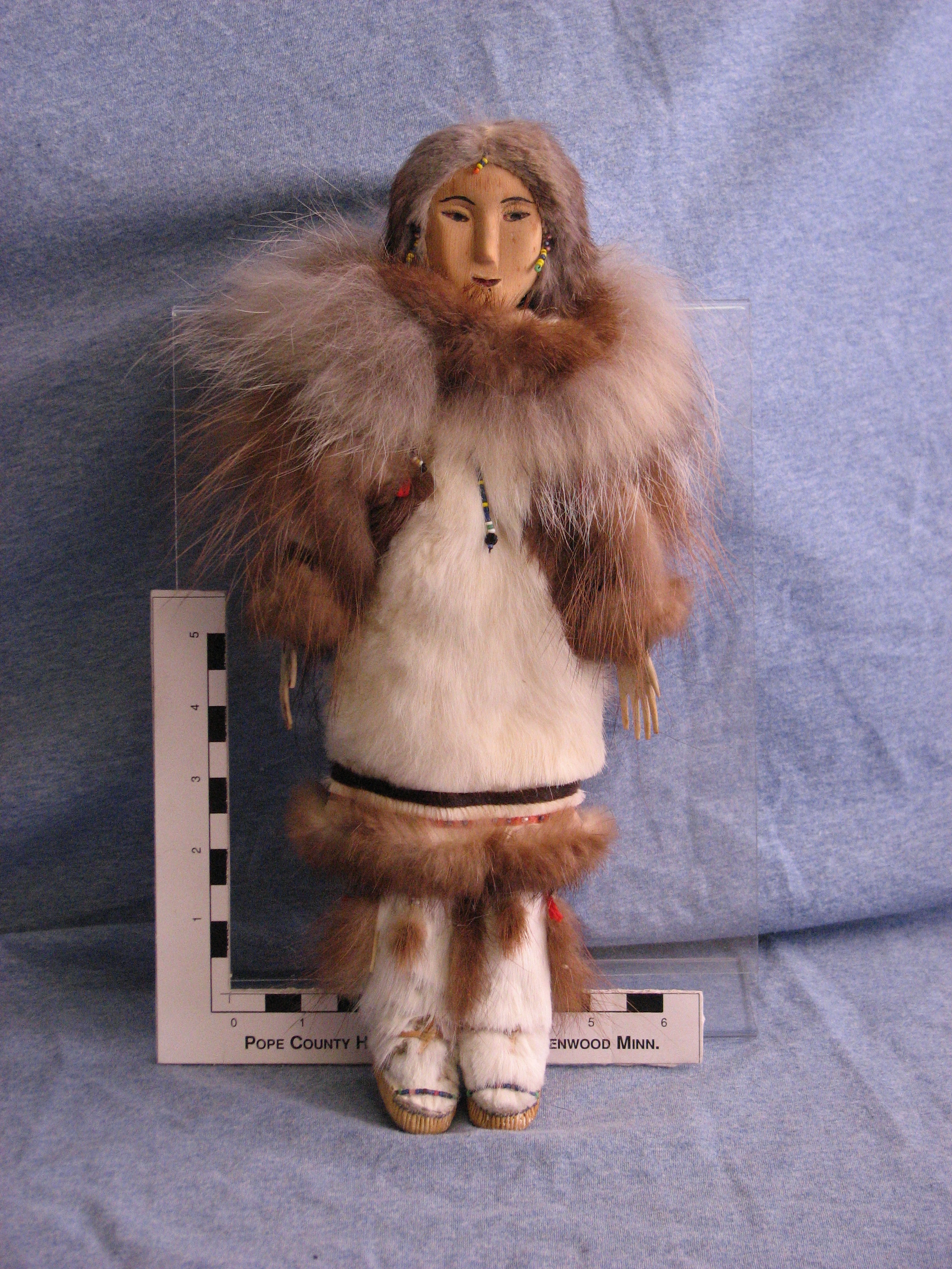 collection highlight alaskan doll pope county museum