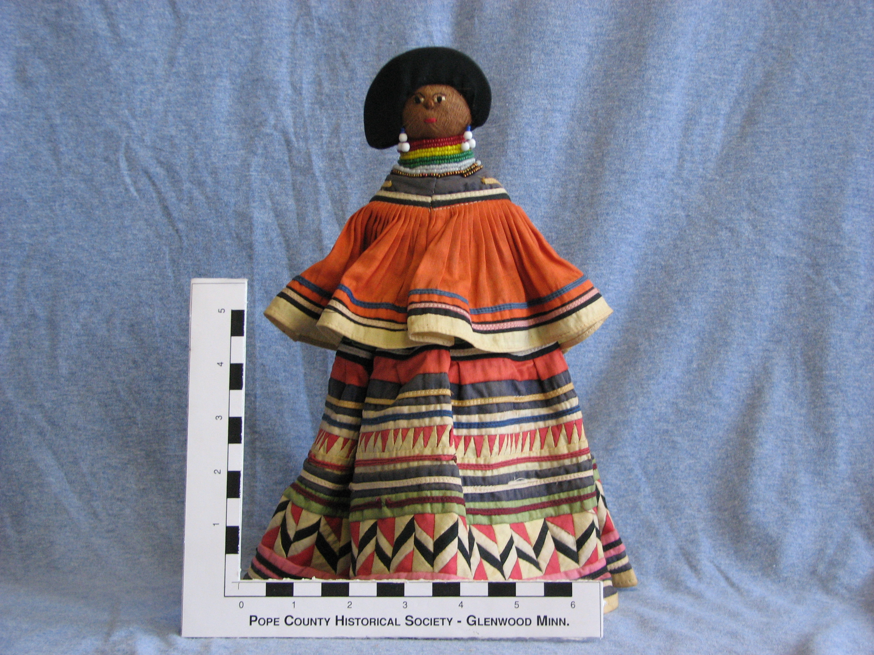 "According to Cleora, ""This female adult doll, 11 1/4 inches high, ..."