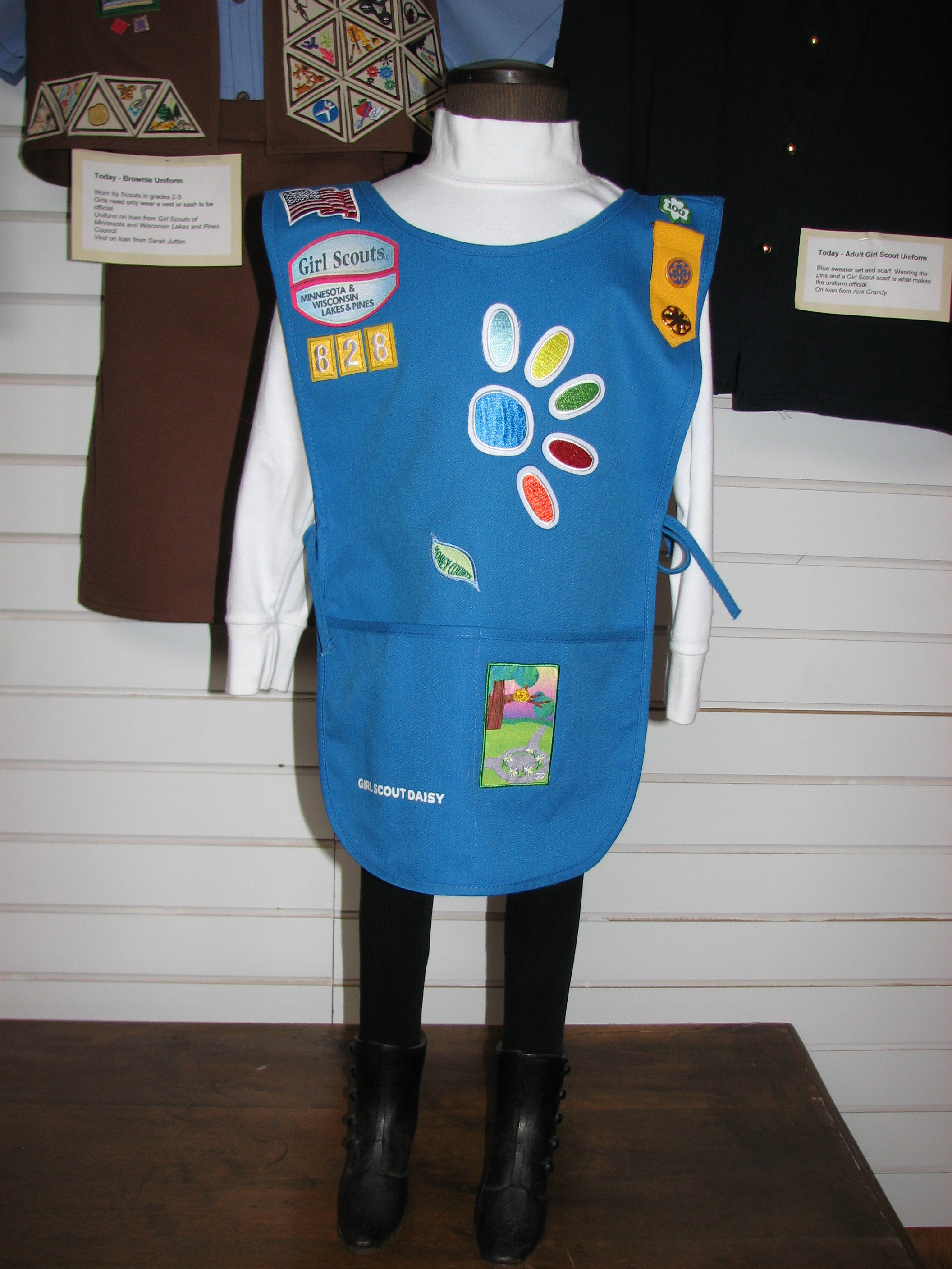 today s daisy girl scout uniform pope county museum