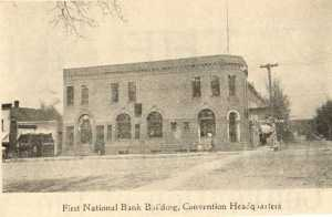 First National Bank Building in 1912