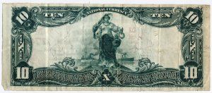 Banknote - back