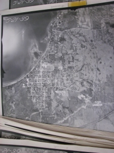 1939 Aerial photo of Glenwood.