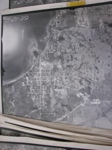 1939 Aerial photo of Glenwood.