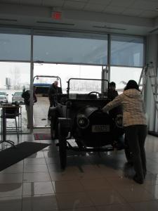 Leaving Marthaler Chevrolet