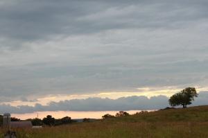 Sweeping prairie vistas