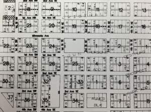 Plat map of Glenwood.