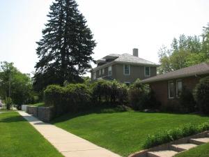 Original location of the Thorson House.