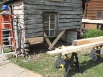 Cabin Repair Day 2 016
