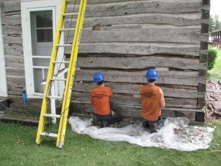Cabin Repair Day 2 036