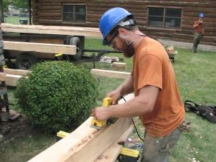 Cabin Repair Day 2 045