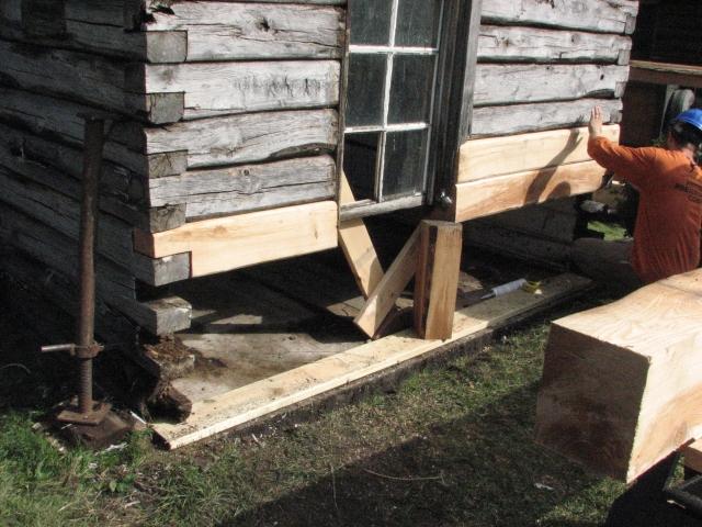 Cabin Repair Day 3 001