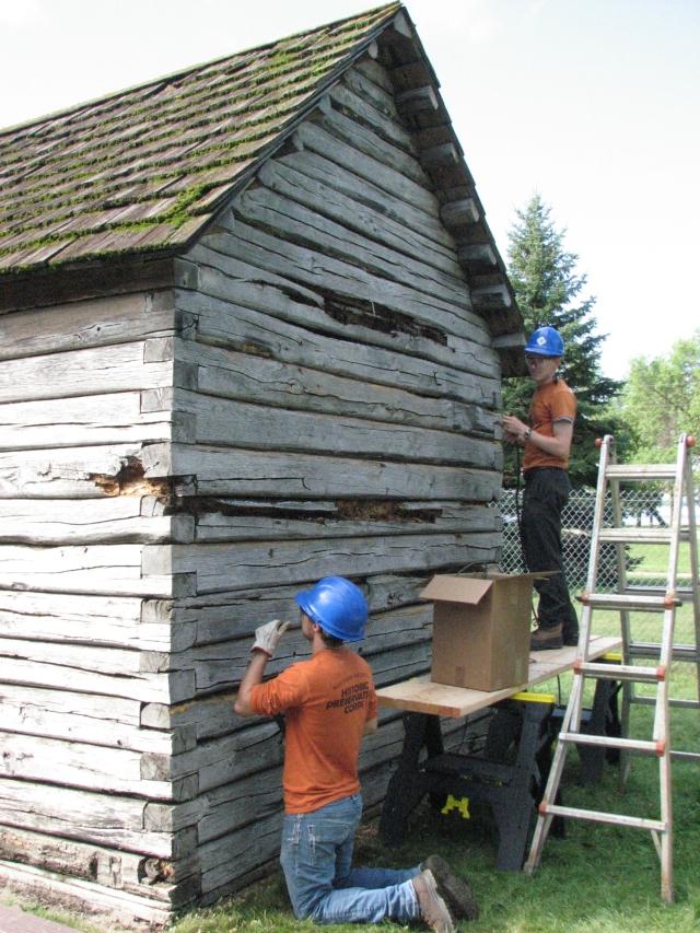 Cabin Repair Day 3 003