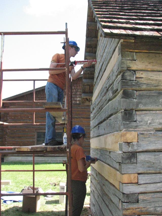 Cabin Repair - Day 5 001