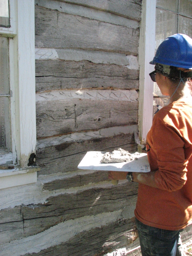 Cabin Repair - Day 5 005