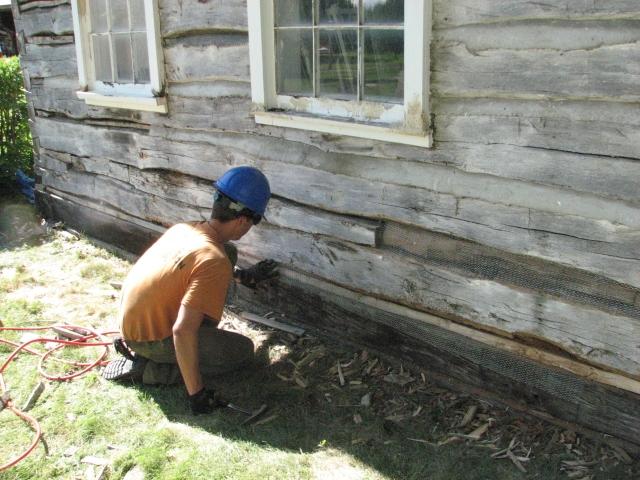 Cabin Repair - Day 5 006