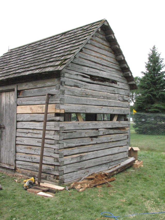Cabin Repairs Day 4 005