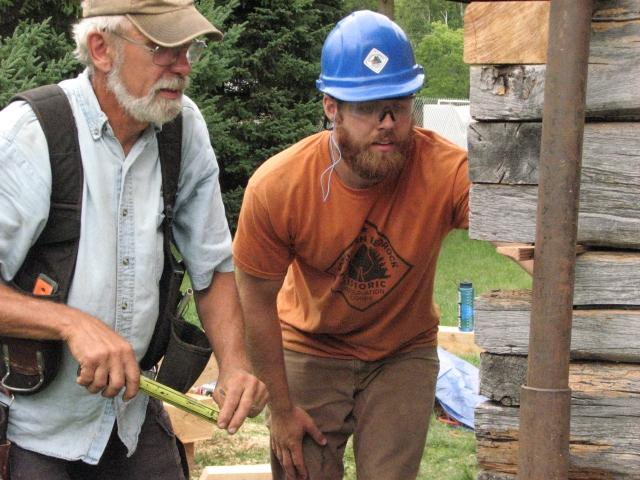 Cabin Repairs Day 4 015
